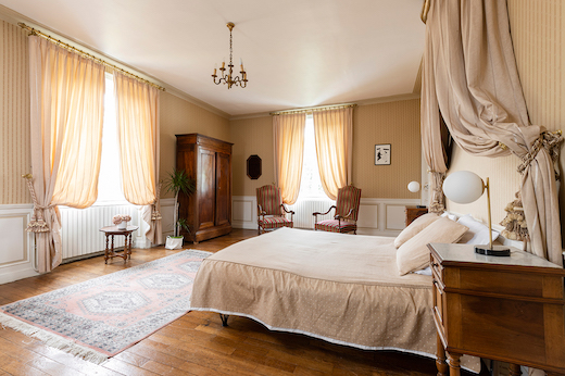 Chambre Anis au Château de Cop Choux