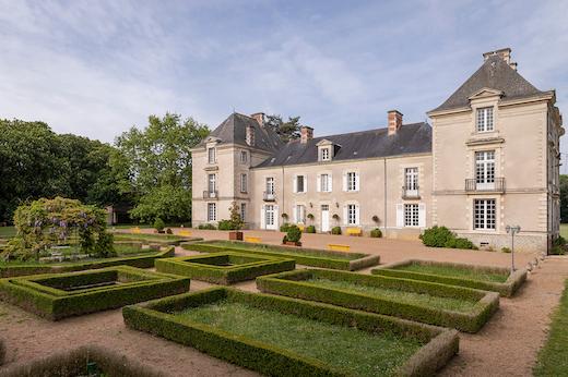 Jardin français au Château de Cop Choux