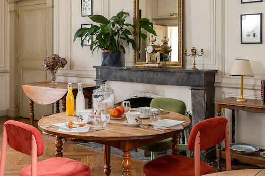Salle à manger du Château de Cop Choux